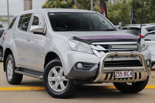 Used Isuzu MU-X MY16.5 LS-U Rev-Tronic 4x2 Toowoomba, 2016 Isuzu MU-X MY16.5 LS-U Rev-Tronic 4x2 Silver 6 Speed Sports Automatic Wagon