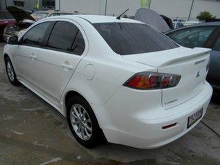 2010 Mitsubishi Lancer CJ MY10 Activ White 6 Speed Constant Variable Sedan