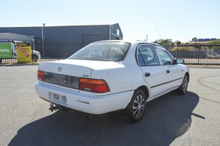 1995 Toyota Corolla AE101R CSi White 4 Speed Automatic Sedan.