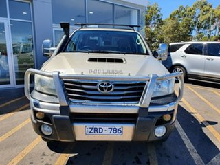 2012 Toyota Hilux KUN26R MY12 SR5 Double Cab Brown 5 Speed Manual Utility