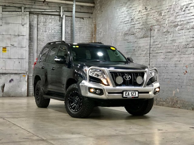 Used Toyota Landcruiser Prado GDJ150R GXL Mile End South, 2016 Toyota Landcruiser Prado GDJ150R GXL Black 6 Speed Sports Automatic Wagon