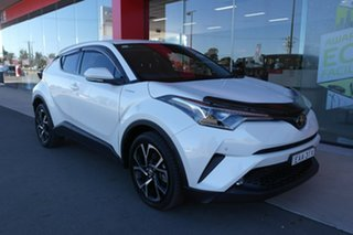 2019 Toyota C-HR NGX10R Koba S-CVT 2WD White 7 Speed Constant Variable Wagon.