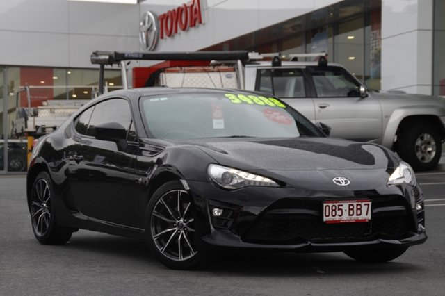 Pre-Owned Toyota 86 ZN6 GTS Woolloongabba, 2017 Toyota 86 ZN6 GTS Crystal Black 6 Speed Sports Automatic Coupe