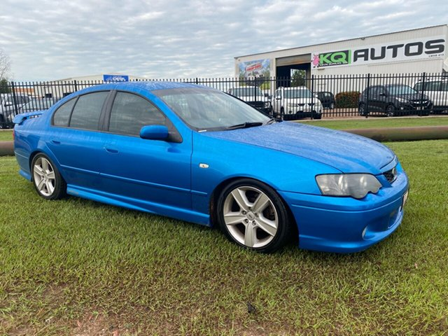 Used Ford Falcon BA XR6 Turbo Berrimah, 2003 Ford Falcon BA XR6 Turbo Blue 5 Speed Manual Sedan