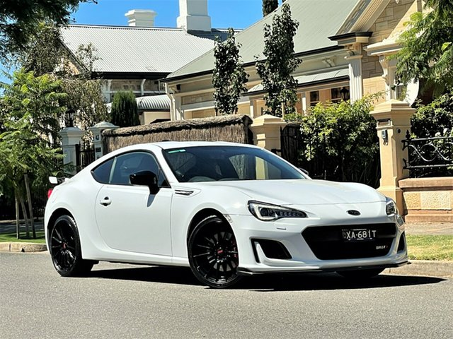 Used Subaru BRZ Z1 MY20 TS Limited Edition Hyde Park, 2019 Subaru BRZ Z1 MY20 TS Limited Edition White 6 Speed Sports Automatic Coupe