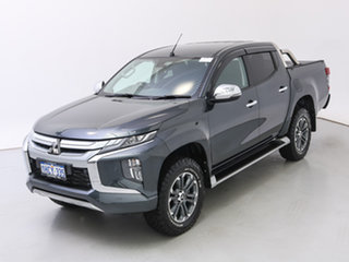 2018 Mitsubishi Triton MR MY19 GLS (4x4) Grey 6 Speed Manual Double Cab Pick Up