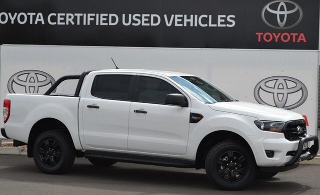 Pre-Owned Ford Ranger PK MkIII MY19.75 XLS Sport 3.2 (4x4) Warwick, 2019 Ford Ranger PK MkIII MY19.75 XLS Sport 3.2 (4x4) White 6 Speed Automatic Double Cab Pick Up