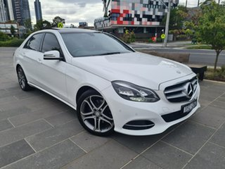 2015 Mercedes-Benz E-Class W212 806MY E200 7G-Tronic + White 7 Speed Sports Automatic Sedan.