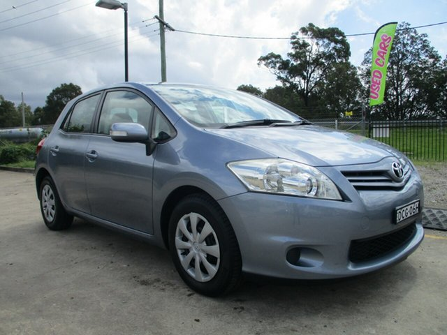 Used Toyota Corolla ZRE152R MY10 Ascent Glendale, 2010 Toyota Corolla ZRE152R MY10 Ascent Blue 4 Speed Automatic Hatchback