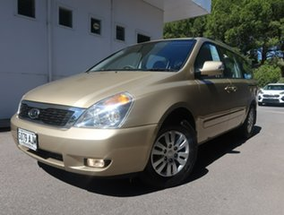 2010 Kia Grand Carnival VQ MY11 SI Gold 6 Speed Sports Automatic Wagon