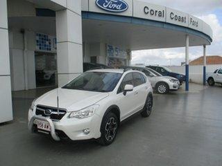 2012 Subaru XV MY13 2.0I White Continuous Variable Wagon.