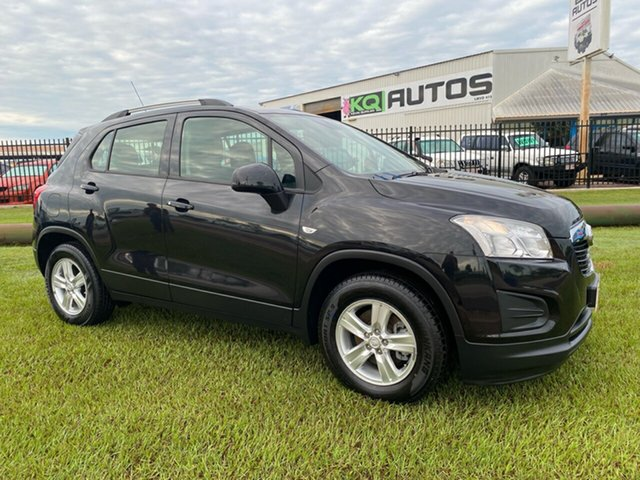 Used Holden Trax TJ MY15 LS Berrimah, 2014 Holden Trax TJ MY15 LS Black 5 Speed Manual Wagon