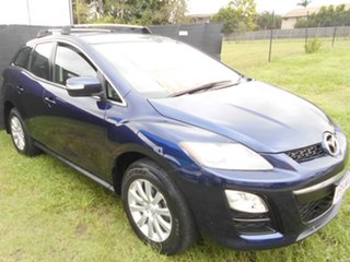 2010 Mazda CX-7 ER10L2 Classic Activematic Blue 5 Speed Sports Automatic Wagon.