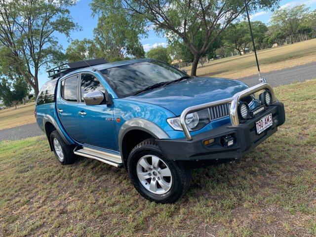 Used Mitsubishi Triton ML MY09 GLX-R Double Cab Moree, 2009 Mitsubishi Triton ML MY09 GLX-R Double Cab 5 Speed Manual Utility