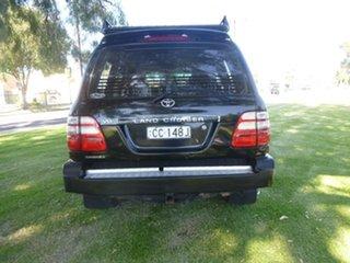2003 Toyota Landcruiser UZJ100R Sahara Black Automatic Wagon
