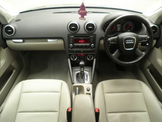 2012 Audi A3 8P MY12 Attraction Sportback S Tronic Silver Leaf Met 7 Speed