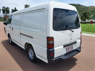 2012 Mitsubishi Express SJ MY12 MWB White 5 Speed Manual Van