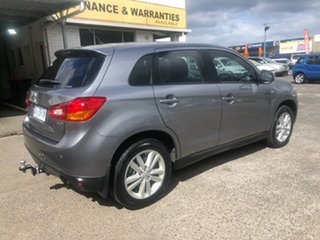 2014 Mitsubishi ASX XB MY14 Grey 6 Speed Sports Automatic Wagon.