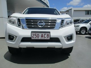 2015 Nissan Navara D40 MY12 Upgrade ST (4x4) White 5 Speed Automatic Dual Cab Pick-up