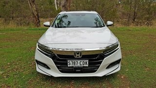 2019 Honda Accord 10th Gen MY19 VTi-LX Platinum White 1 Speed Constant Variable Sedan