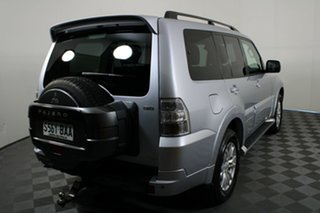 2013 Mitsubishi Pajero NW MY13 VR-X Silver 5 Speed Sports Automatic Wagon.
