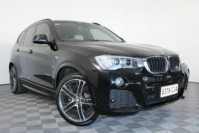Used BMW X3 F25 LCI xDrive20d Steptronic Wayville, 2016 BMW X3 F25 LCI xDrive20d Steptronic Black 8 Speed Automatic Wagon