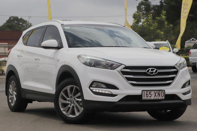 Used Hyundai Tucson TLe MY17 Active 2WD Toowoomba, 2017 Hyundai Tucson TLe MY17 Active 2WD White 6 Speed Sports Automatic Wagon