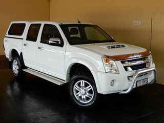 2011 Isuzu D-MAX TF MY10 LS-U (4x4) White 5 Speed Manual Crew Cab Utility