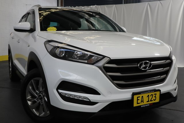 Used Hyundai Tucson TLe MY17 Active AWD Castle Hill, 2017 Hyundai Tucson TLe MY17 Active AWD White 6 Speed Sports Automatic Wagon