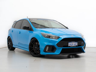 2017 Ford Focus LZ RS Limited Edition Blue 6 Speed Manual Hatchback.