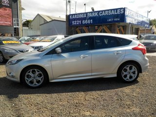 2012 Ford Focus LW MK2 Sport Silver 6 Speed Automatic Hatchback