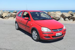 2003 Holden Barina XC MY03 SXI Red 5 Speed Manual Hatchback