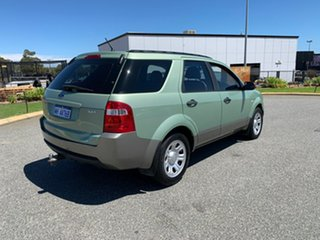 2007 Ford Territory SY TX (RWD) Green 4 Speed Auto Seq Sportshift Wagon