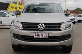 2016 Volkswagen Amarok 2H MY16 TDI420 4Motion Perm Silver 8 Speed Automatic Cab Chassis