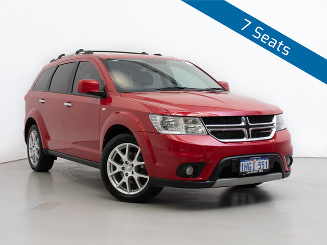 Used Dodge Journey JC MY15 R/T, 2015 Dodge Journey JC MY15 R/T Red 6 Speed Automatic Wagon