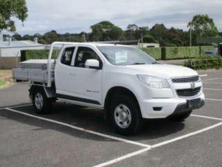 2015 Holden Colorado RG Turbo LS 4x4 White Automatic SPACECAB CHASSI.