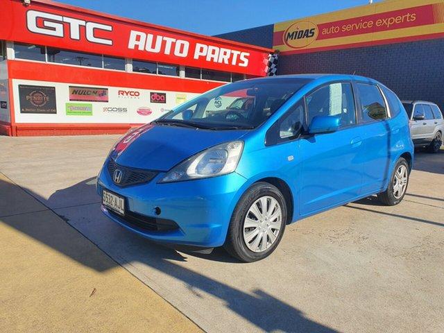 Used Honda Jazz GE MY10 GLi Morphett Vale, 2010 Honda Jazz GE MY10 GLi Blue 5 Speed Automatic Hatchback