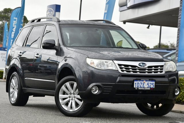 Used Subaru Forester S3 MY12 XS AWD Melville, 2012 Subaru Forester S3 MY12 XS AWD Dark Grey 4 Speed Sports Automatic Wagon
