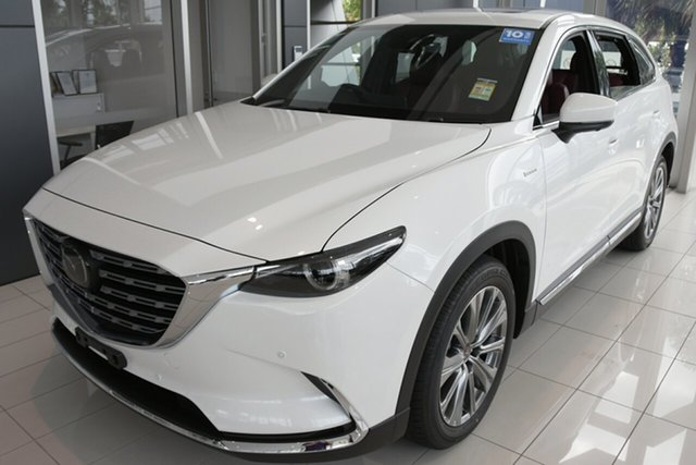New Mazda CX-9 CX9L Azami (AWD) 100th Anniversary Kirrawee, 2020 Mazda CX-9 CX9L Azami (AWD) 100th Anniversary Snowflake White Pearl 6 Speed Automatic Wagon