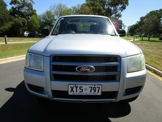 2008 Ford Ranger PJ XL Silver 5 Speed Automatic Double Cab