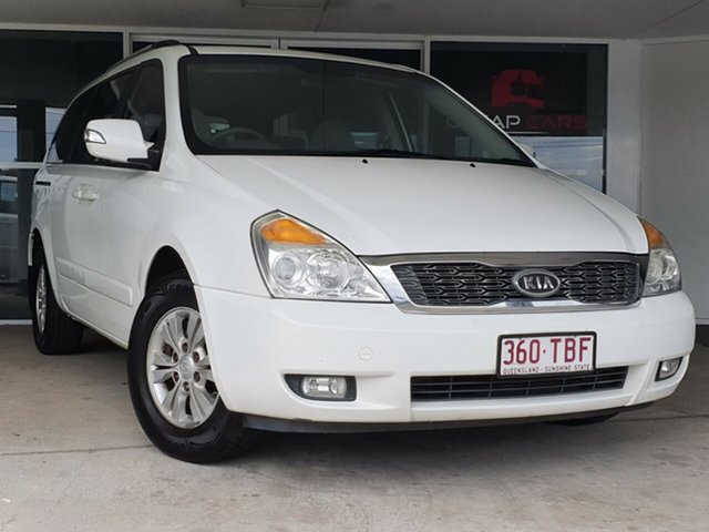 Used Kia Carnival VQ MY11 S Brendale, 2011 Kia Carnival VQ MY11 S White 4 Speed Sports Automatic Wagon