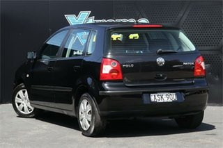 2004 Volkswagen Polo 9N MY2004 Match Black 5 Speed Manual Hatchback