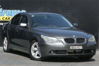 2004 BMW 5 Series E60 530i Steptronic Grey 6 Speed Sports Automatic Sedan