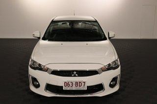 2017 Mitsubishi Lancer CF MY17 GSR White 6 speed Automatic Sedan.