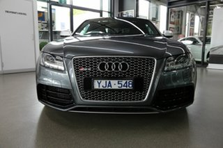 2011 Audi RS5 8T MY11 S Tronic Quattro Grey 7 Speed Sports Automatic Dual Clutch Coupe