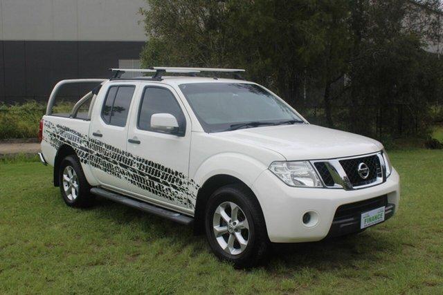 Used Nissan Navara D40 S6 MY12 ST 4x2 Ormeau, 2014 Nissan Navara D40 S6 MY12 ST 4x2 White 5 Speed Automatic Utility