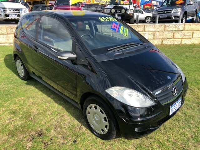 Used Mercedes-Benz A-Class W169 A150 Classic Wangara, 2005 Mercedes-Benz A-Class W169 A150 Classic Black 5 Speed Manual Hatchback