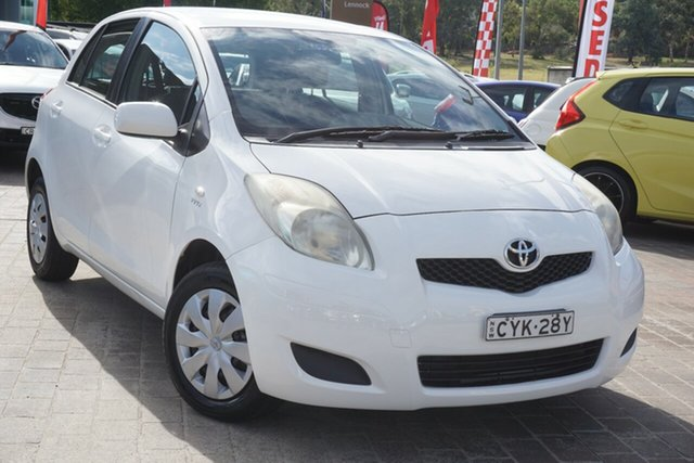 Used Toyota Yaris NCP90R MY10 YR Phillip, 2010 Toyota Yaris NCP90R MY10 YR White 4 Speed Automatic Hatchback
