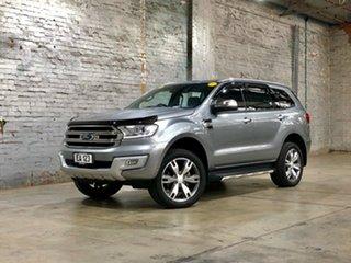 2016 Ford Everest UA Titanium Silver 6 Speed Sports Automatic SUV.