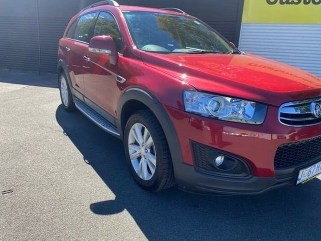 Used Holden Captiva CG MY15 7 AWD LT Launceston, 2015 Holden Captiva CG MY15 7 AWD LT Red 6 Speed Sports Automatic Wagon